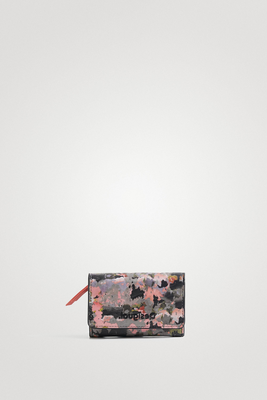Arty little coin purse - GREEN - U