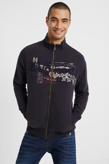 Sweat-shirt à col montant | Desigual