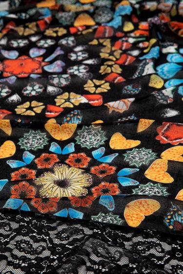 Foulard farfalle galattiche | Desigual