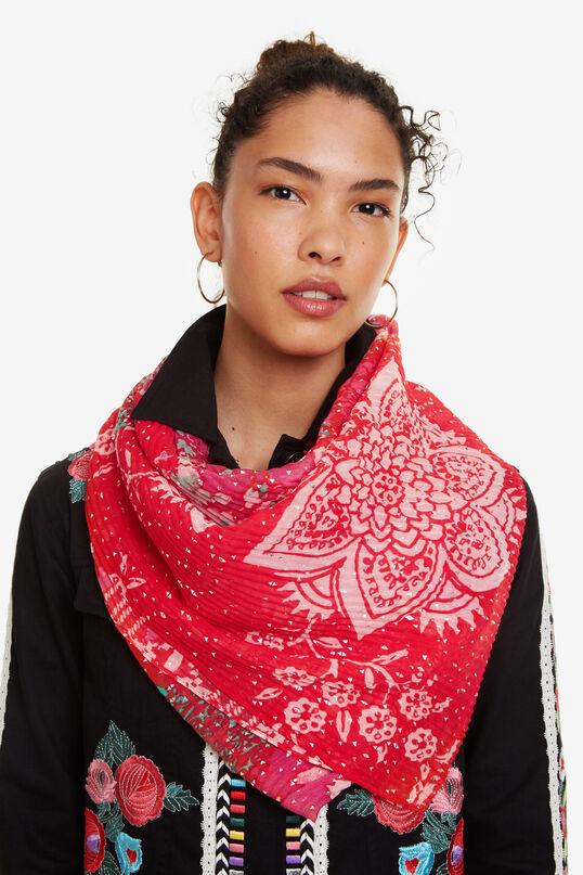 Foulard rojo Lujan | Desigual