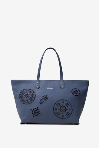 Shopping bag embossing