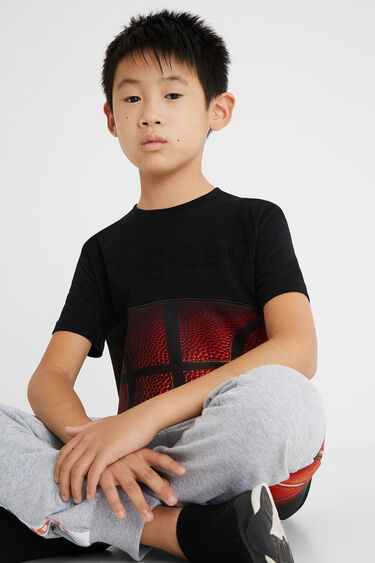 100% cotton T-shirt basketball | Desigual