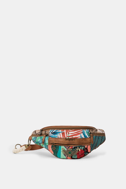 Bum bag patch floral
