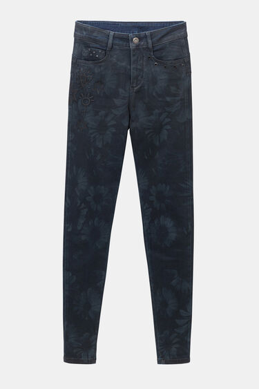 Slim tropical jean trousers   Desigual
