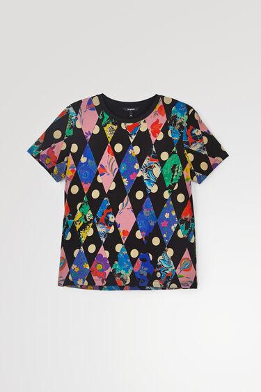 T-shirt losanges | Desigual