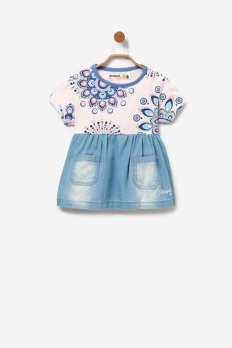 Babykleid mit Jeansrock Patri