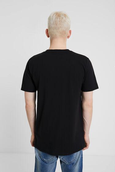 New logo T-shirt in 100% cotton | Desigual