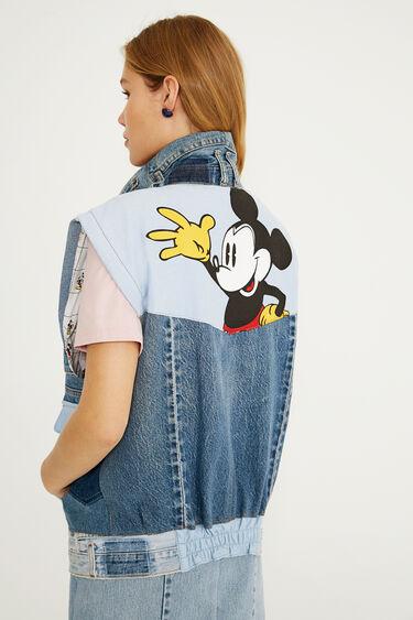 Mickey Mouse Icon denim vest | Desigual