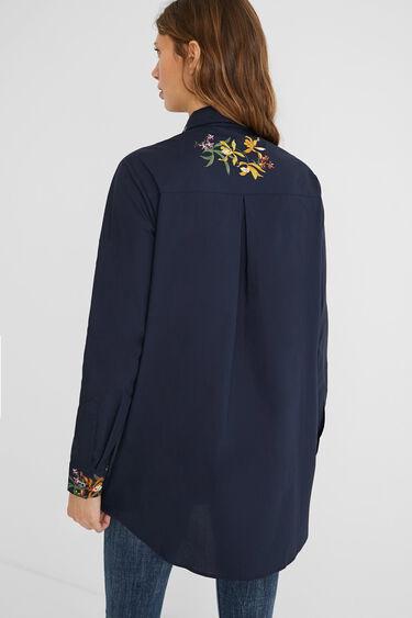 Long shirt floral print   Desigual
