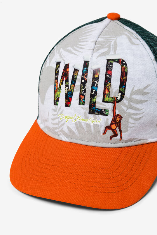 Two-colour Lettering Hat Canoening   Desigual