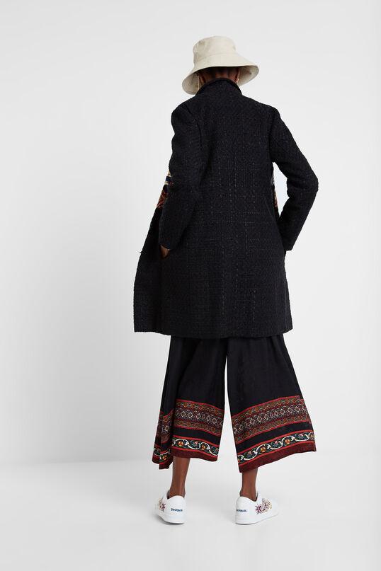 Boho patch coat | Desigual