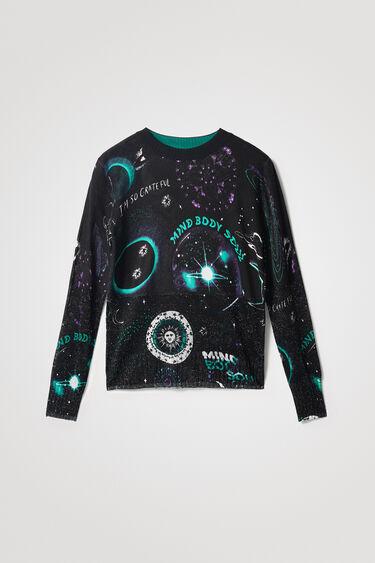 Knit jumper cosmic | Desigual