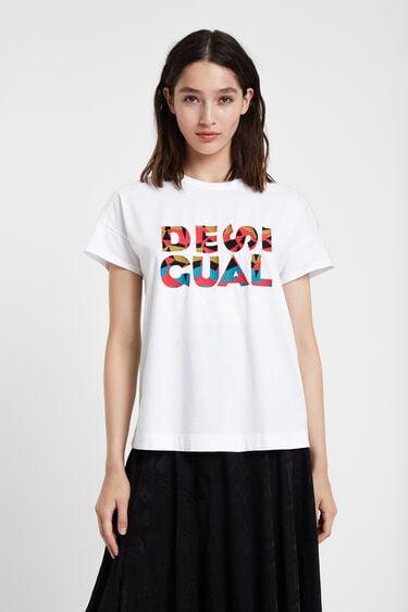 Camiseta básica lettering | Desigual