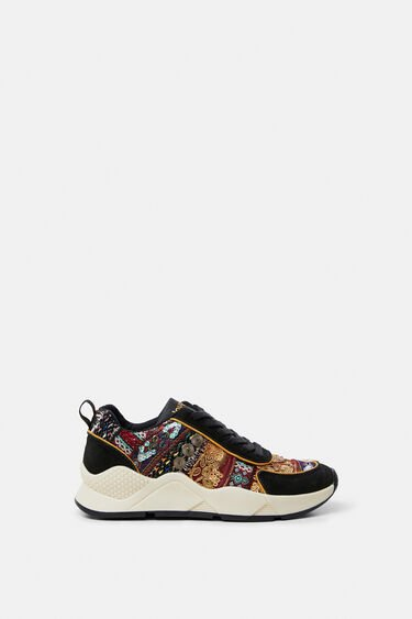 Boho embroidered sneakers | Desigual