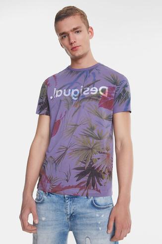 Camiseta hawaiana floral
