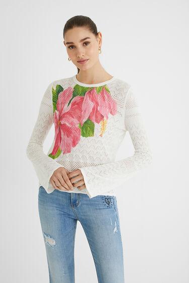 Bell sleeve knit jumper   Desigual