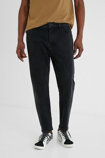 Straight jeans dark