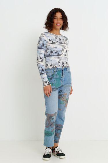 Crop T-Shirt Micky Maus | Desigual