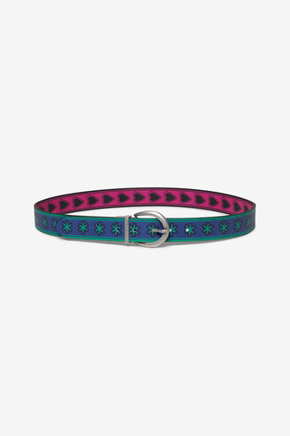Reversible hearts belt
