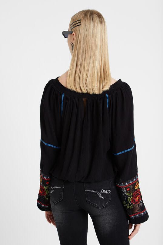 Ausgestellte Boho-Bluse | Desigual