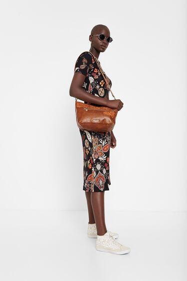 Midi dress paisley print | Desigual