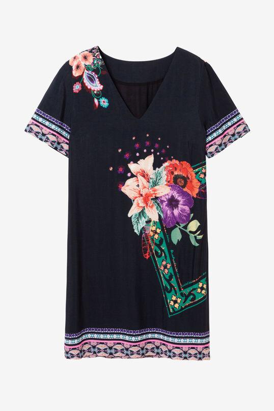 Nordic-Inspiration Dress Barta | Desigual