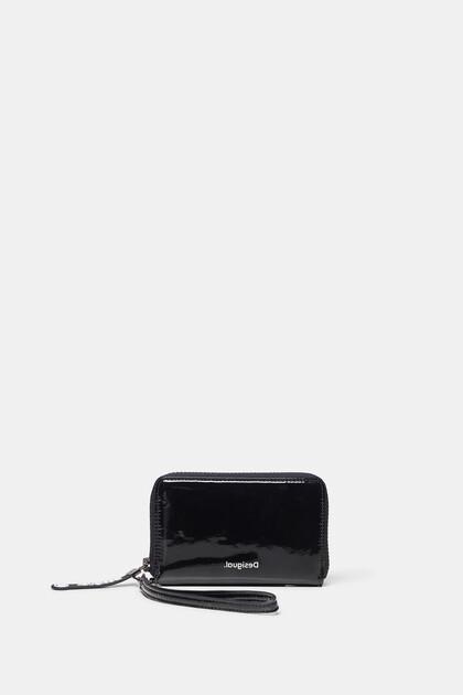 ストラップ ビニール財布