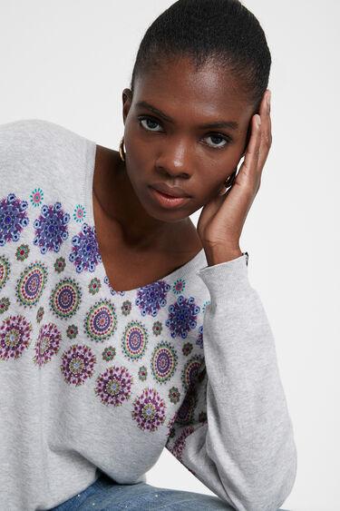 Sweater floral mandala | Desigual