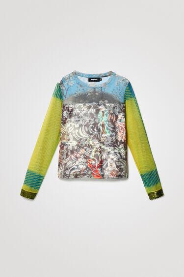 T-shirt slim arty   Desigual