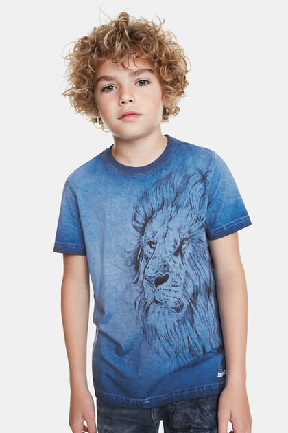 Lion print T-shirt bolimania