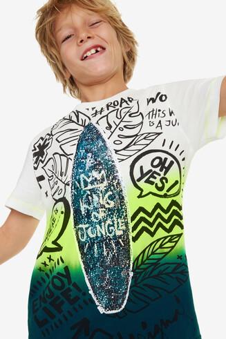 Tie-Dye Surf T-shirt Marc
