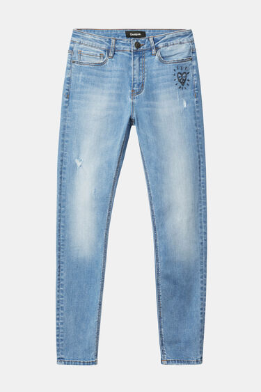 Pantalons texans skinny | Desigual