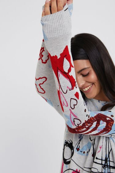 Slim knit jumper | Desigual