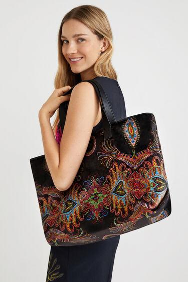 Shopping bag paisley | Desigual