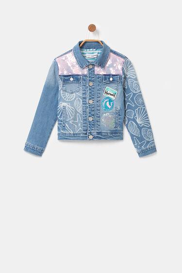 Jean jacket sequins | Desigual