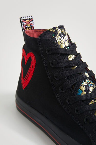 Sneakers hoher Schaft Camouflage   Desigual
