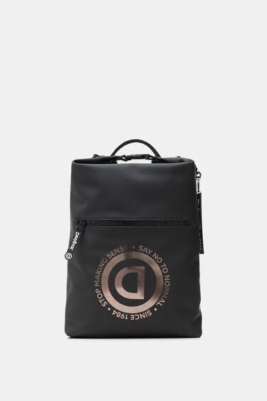 Technical fabric urban backpack | Desigual