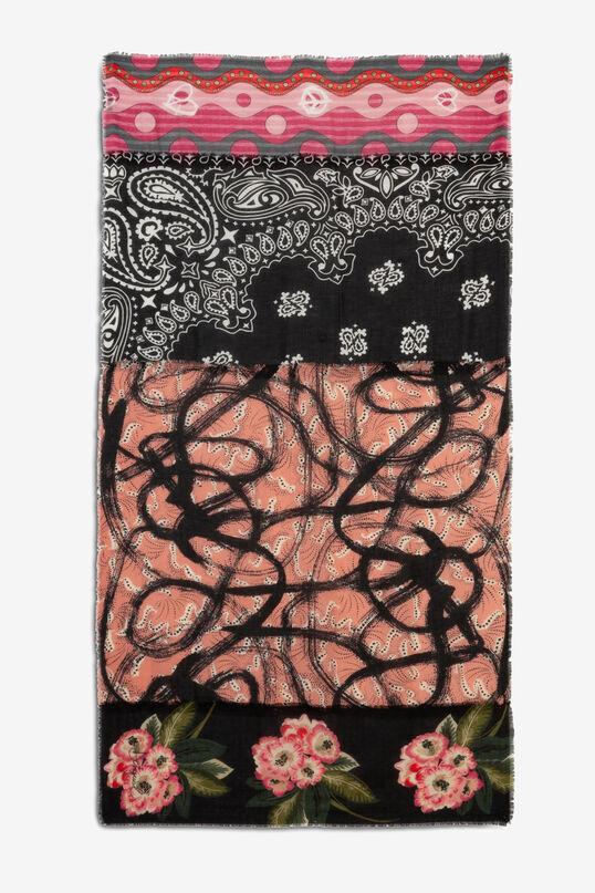 Foulard rectangular prints boho | Desigual