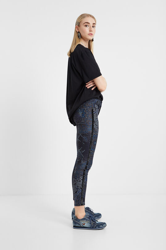 Pantalon skinny galactique | Desigual