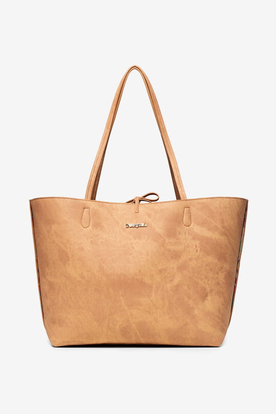 Omkeerbare tas met hindoeprint Capri | Desigual