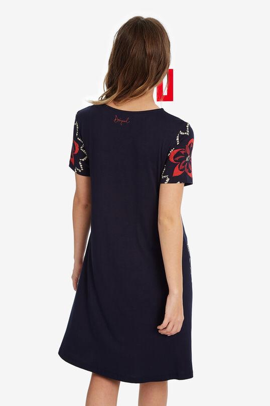 Flared V-neck dress | Desigual