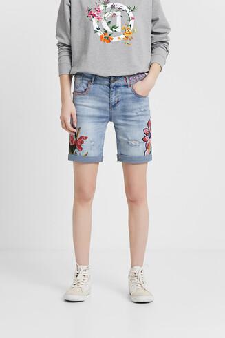 Pantalon en jean short