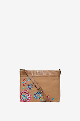 Embroidered Messenger Bag Aliki Espot