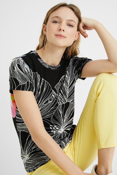 Tropical T-shirt short sleeve | Desigual
