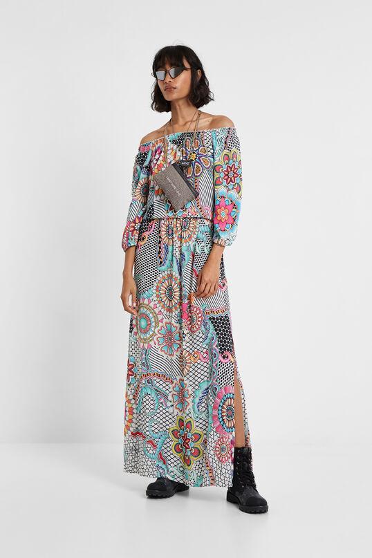 Long floral dress Dera | Desigual