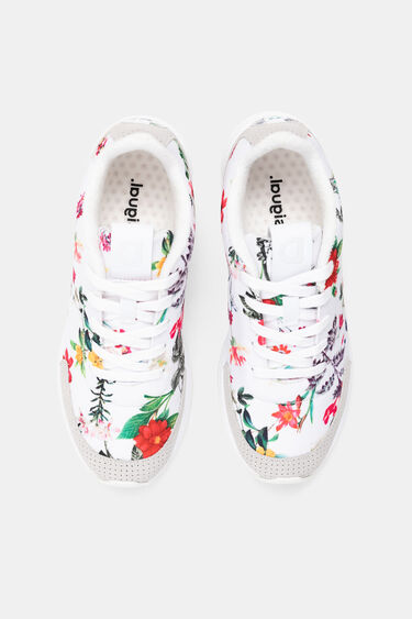 Zapatilla running floral | Desigual