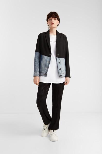 Hybrid aus Blazer und Jeansjacke