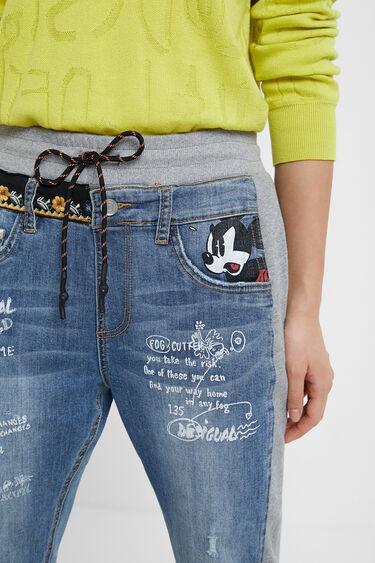 Pantalon jogger Mickey Mouse   Desigual