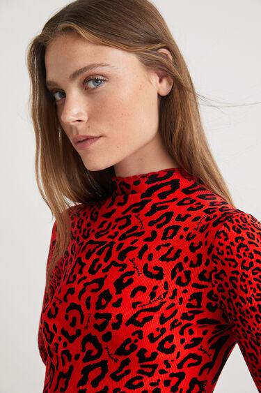Slim-fit leopard T-shirt   Desigual