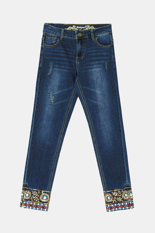 Slim jean trousers | Desigual